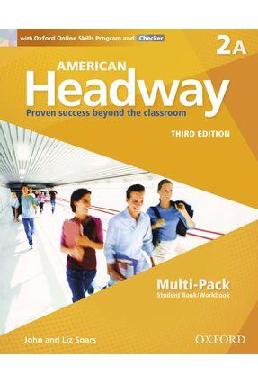 Am Headway - Level 2 Multipk A W Oosp & Ichecker - 3ª Edition - John Soars Liz Soars | Nisrs.org