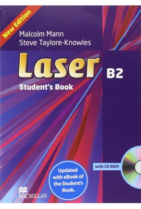 Laser 3Rd Edition Student's Book With Ebook Pack-B2 - Taylore-knowles,Steve Mann,Malcom | Nisrs.org