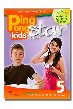 Promo-Ping Pong Kids Star Edition 5 - Student's Pack - Wilson Chequi | Nisrs.org