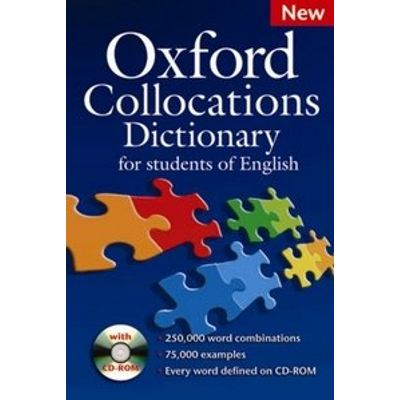 Oxford Collocations Dictionary For Students of English With CD-ROM - New Edition