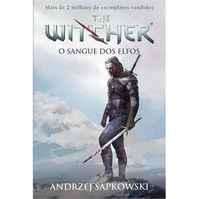 O Sangue Dos Elfos - The Witcher - Vol.3 - Capa Game