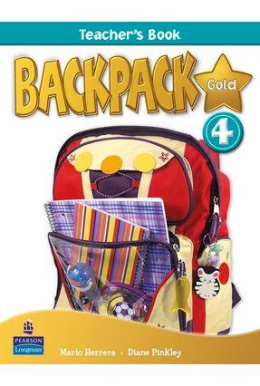 Backpack Gold 4 Teacher's Book New Edition - Pinkley,Diane Herrera,Mario   Tagrny.org