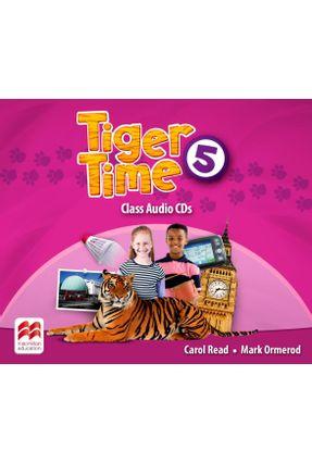 Tiger Time - Class Audio Cd - Level 5 - Carol Read Ana Soberón pdf epub