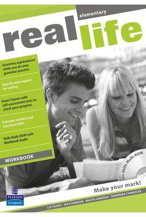Real Life Elem Wb & Multirom 1E Elem Wb & Multi Rom 1E - Editora Pearson   Nisrs.org