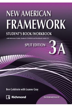 New American Framework 3a - Student's Book + Workbook + CDs - Goldstein,Ben Gray,Leanne | Tagrny.org