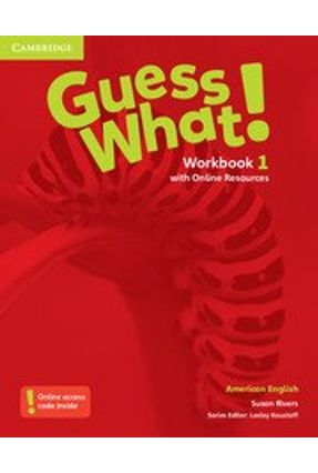 Guess What! 1 - Workbook With Online Resources - Reed,Susannah Reed,Susannah | Tagrny.org