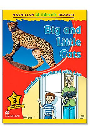 Big And Little Cats - Grandad'S Weekend With Leo - Level 3 - Coleen Degnan-Veness   Nisrs.org