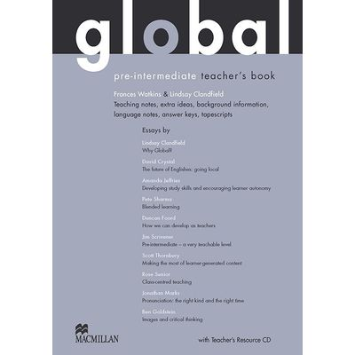Global Teacher's Book And Ebook Pack-Pre-Int