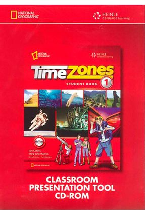 Time Zones 1 - Classroom Presentation CD-ROM - Maples,Mary Jane Collins,Tim Catherine Frazier,Richard | Hoshan.org