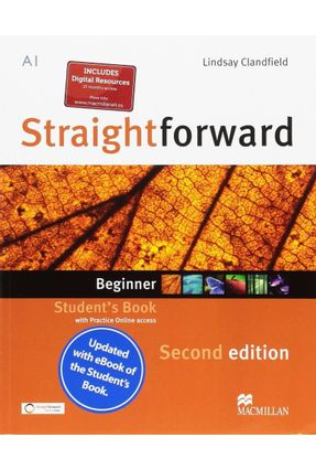 Straightforward 2Nd Students Book & Ebook Pack-Beg - Scrivener,Jim Tennant,A. pdf epub