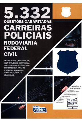 Carreiras Policiais - 5.332 Questões Gabaritadas - Alfacon pdf epub