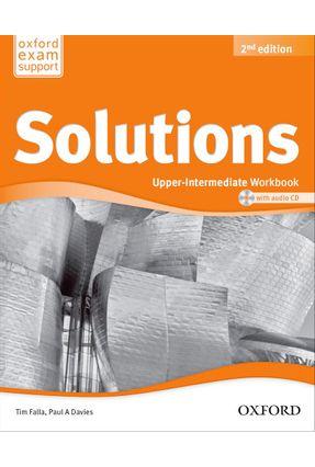 Solutions - Upper-Intermediate - Workbook And Audio CD Pack - 2ª Ed. - Editora Oxford   Nisrs.org