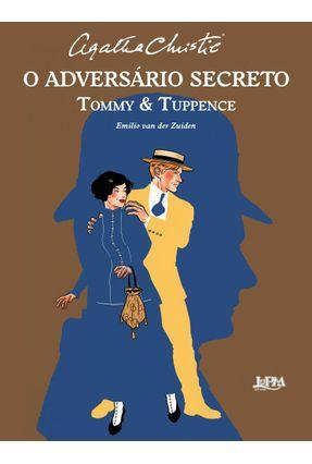 O Adversário Secreto - HQ - Christie,Agatha Zuiden,Emilio Van Der   Tagrny.org