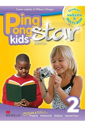 Promo-Ping Pong Kids Star Edition 2 - Student's Pack - Wilson Chequi | Nisrs.org
