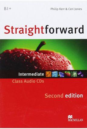 Straightforward Intermediate - Class Audio CDs - Second Edition - Editora Macmillan   Hoshan.org