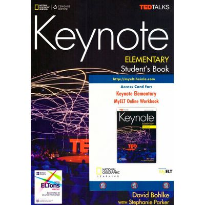 Keynote - Bre - Elementary - Student Book + Dvd-Rom + Myelt Online Workbook, Printed Access Code