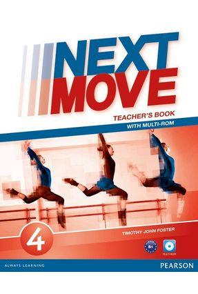 Next Move 4 Tb & Multi-Rom Level 4 Tb 1E - Editora Pearson   Nisrs.org