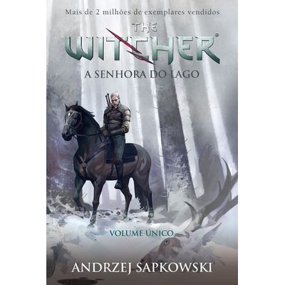 A Senhora Do Lago - The Witcher - A Saga Do Bruxo Geralt De Rivia - Vol. 7 Único - Capa Game