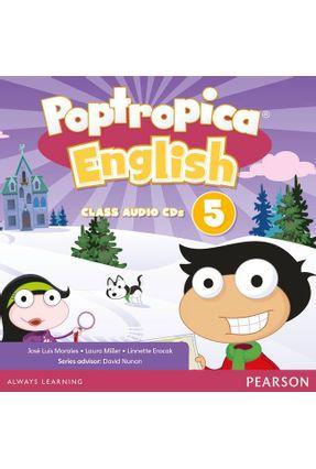 Poptropica English American Edition 5 Audio Cd - Miller,Laura Wiltshier,John | Hoshan.org