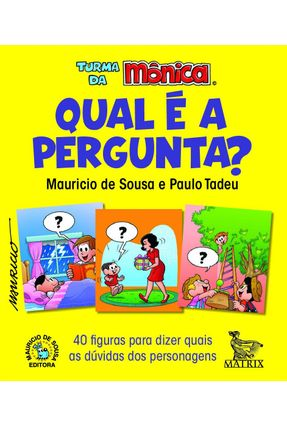 Qual É A Pergunta? - 40 Figuras Para Dizer Quais As Dúvidas Dos Personagens -  pdf epub