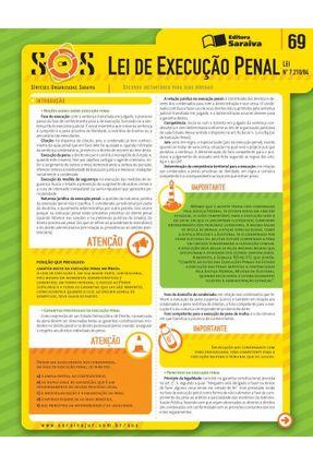 Col. Sos - Sínteses Organizadas Saraiva - Vol. 69 - 2ª Ed. 2013 - Lei de Execução Penal - Andreucci,Ricardo Antonio pdf epub