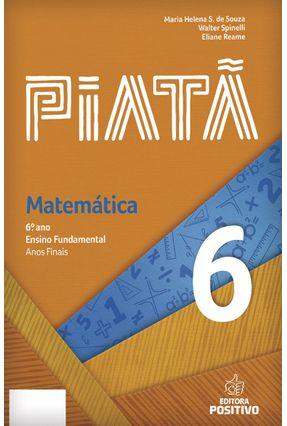 Piatã - Matemática - 6º Ano - Spinelli,Walter Vasconcelos,Adson Souza,Maria Helena S. De pdf epub