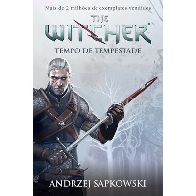 Tempo De Tempestade - The Witcher - A Saga Do Bruxo Geralt De Rivia - Preludio - Capa Game