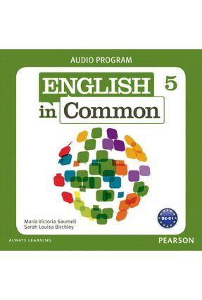 English In Common 5 CL Aud Cd 5 Aud Program (2) 1E - Editora Pearson pdf epub