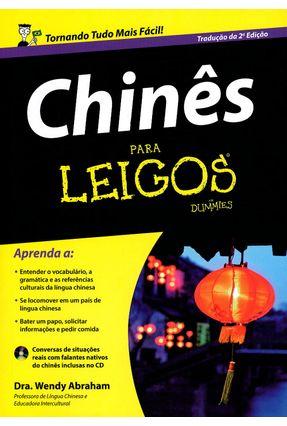 Chinês Para Leigos - Abraham,Wendy   Nisrs.org