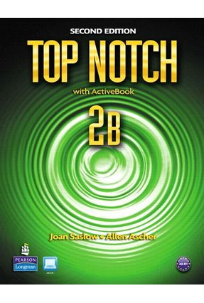 Top Notch 2 B - Student Book - Active Book With CD-ROM & Mylab - Second Edition - Ascher,Allen Saslow,Joan | Hoshan.org