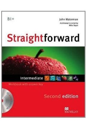 Straightforward Intermediate - Workbook With Audio CD - With Key - 2 Ed. - Macmillan | Nisrs.org