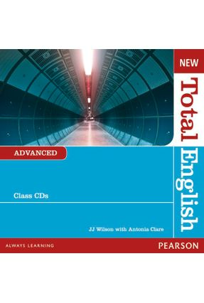 New Total English 2E Adv CL  Aud Cd Adv CL Aud Cd 2E - Editora Pearson   Hoshan.org