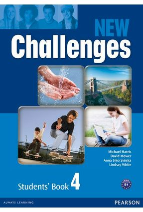 New Challenges - Level 4 - Student Book - Sikorzynska,Anna Mower,David Harris,Michael   Hoshan.org
