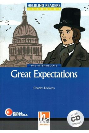 Great Expectations - With CD - Pre-Intermediate - Col. Helbling Readers Classics - Dickens,Charles   Nisrs.org