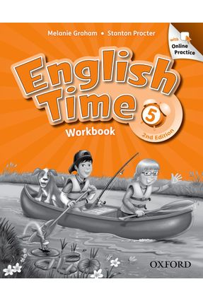 English Time 5 - Workbook - With Online Practice Pack - 2 Edition - Editora Oxford | Nisrs.org