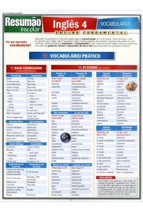 Resumão - Inglês 4 - Vocabulário - Azevedo,Maitê Filizola pdf epub