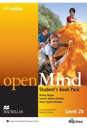 Open Mind - Level 2 B - Student´S Book Pack - 2nd Edition - Editora Macmillan Editora Macmillan | Hoshan.org