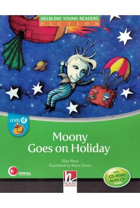 Moony Goes On Holiday - With CD-ROM / Audio CD - Level D - Col. Helbling Young Readers - Davies,Dilys | Nisrs.org