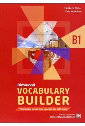 Richmond - Vocabulary Builder B1 - Student's Book Without Answers - Editora Moderna   Hoshan.org