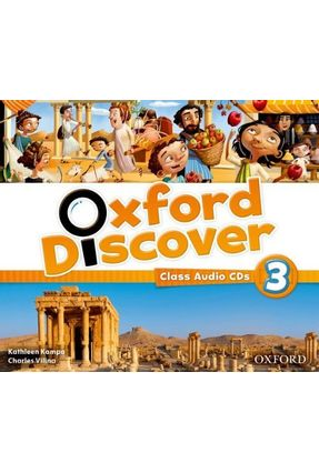 Oxford Discover 3 - Class Audio CDs - Editora Oxford   Tagrny.org