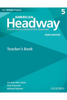Am Headway - Level 5 Trb W Testing Program - 3ª Edition - Liz Soars John Soars | Nisrs.org