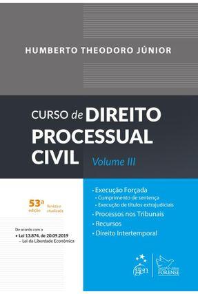 Curso De Direito Processual Civil - Vol. III -  pdf epub