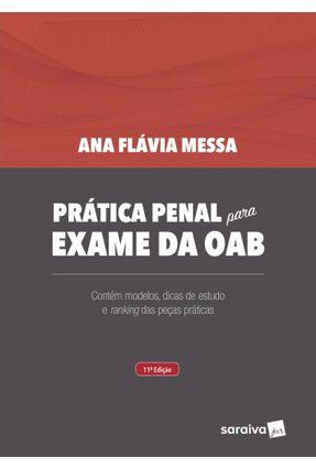 Prática Penal Para Exame da OAB - 11ª Ed. 2020