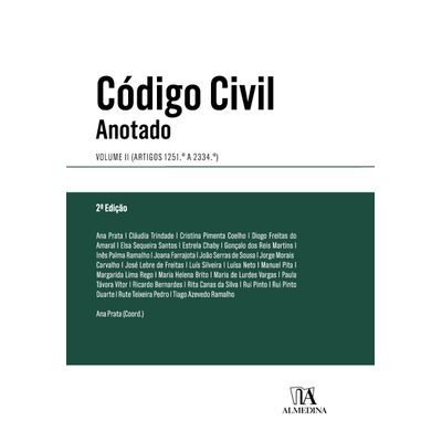 Código Civil Anotado - 2ª Ed. 2019