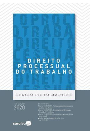 Direito Processual do Trabalho - 42ª Ed. 2020 -  pdf epub