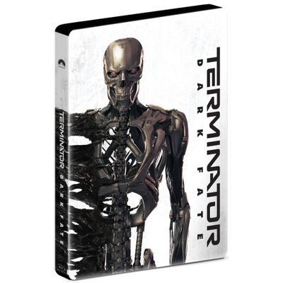 O Exterminador do Futuro - Destino Sombrio - Blu-Ray - Steelbook