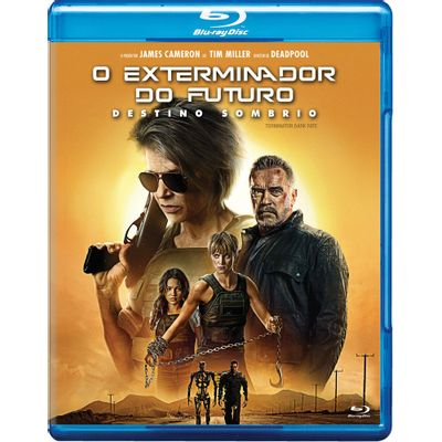 O Exterminador do Futuro - Destino Sombrio - Blu-Ray