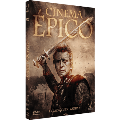 DVD Cinema Épico - 2 Discos