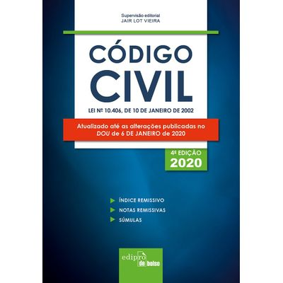 Código Civil 2020 - Mini