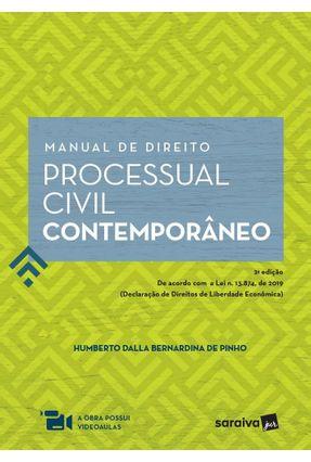 Manual De Direito Processual Civil Contemporâneo - 2ª Ed. 2020